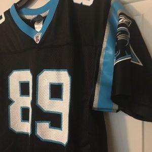 b2b493dd6 Reebok Shirts   Tops - Carolina panthers youth Steve Smith jersey XL